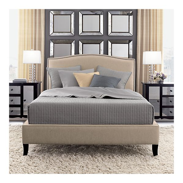 crate and barrel bed 2